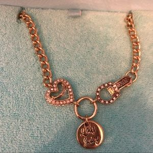 Juicy Couture Lady Juicy Rhinestone Necklace